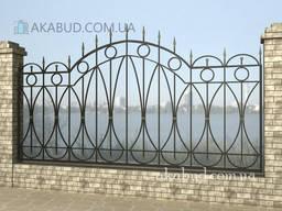 Сварной забор Л12. Забор из металла. Установка, доставка