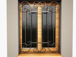 Сварные #решетки. Решетки на окна. Кованые решетки на окна. Сварные решетки на окна.