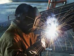 Сварочные работы, металлоконструкции