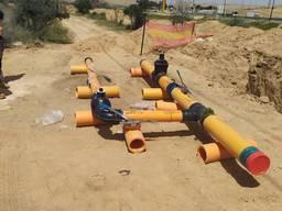 Сварочные работы ПЕ газопроводов
