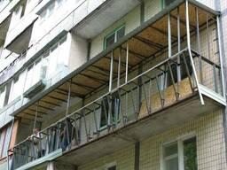 Сварочные работы по выносу балкона