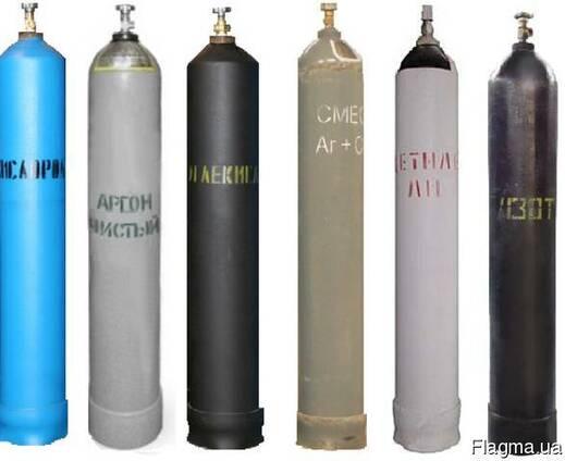 Сварочные смеси (МИКС), кислород, аргон, углекислота, азот