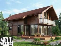 SVdesign. Индивидуальное проектирование домов Житомир.