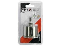 Свердло по гресу і кераміці YATO 50 мм при сухому і мокрому режимах