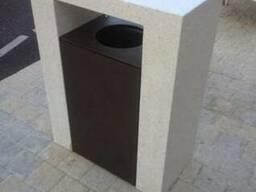 Сверхпрочные скамейки, клумбы и урны из бетона М-600