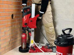 Сверление без пыли в бетоне