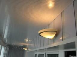 Светлый Балкон Пластиковые Окна