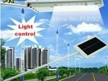 Светильник фонарь на солнечной батарее 15 лед LED с датчиком - фото 1