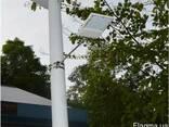 Светильник фонарь на солнечной батарее 15 лед LED с датчиком - фото 2
