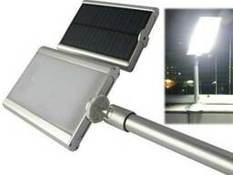 Светильник на солнечной батарее 20LED с датчиком освещености