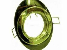 Светильник точечный (MR 16) 856A CF GU/G графит/золото, Аско