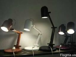 Светильник-трансформер из дерева,настольная лампа купить