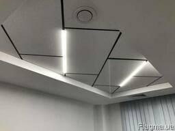 Светильники для потолка Армстронг и потолка Грильято Kraft L