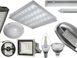 Светильники, лампи LED