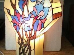Светильники, лампы, декор Тиффани.