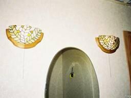 Светильники, лампы, бра, декор Тиффани.