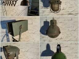 Светильники прожектора фонари мебель