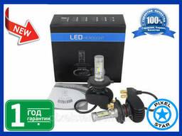 Светодиодная автолампа S1 H3 LED для фар (2шт)