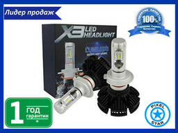 Светодиодная автолампа X3 H11 для фар LED (2шт)
