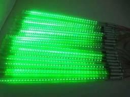 Светодиодная гирлянда Метеоритный дождь зеленый