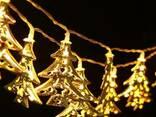 Светодиодная гирлянда Новогодние ёлочки 2,5м 20 LED - фото 1