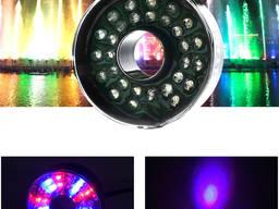 Светодиодная LED RGB подсветка для фонтанов бассейнов