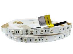 Светодиодная лента 60шт/м 13,2Вт/м SMD 5050 IP33 24V RGB Premium Rishang