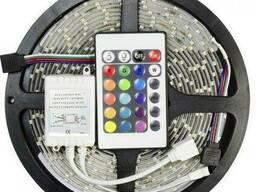 Светодиодная лента Kronos SMD 3528 RGB 5 м Разноцветный. ..