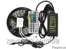 Светодиодная лента многоцветная RGB 5050 60 LED 5 м