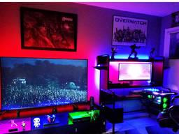 Светодиодная лента подсветка для телевизора 3м RGB с пультом