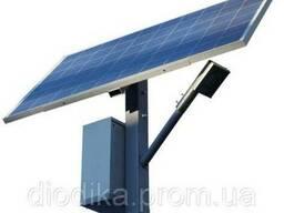 Светодиодный автономный уличный светильник SMD с солнечной б