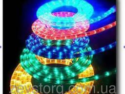 Светодиодный дюралайт LED 10м с контроллером Мульти