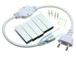 """Светодиодный LED гибкий неон Prolum 2835\120 IP68 220V - Series """"GL"""" PRO, Белый. .."""