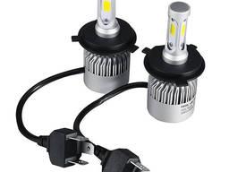 Светодиодные автомобильные LED-лампы H4 LED Headlight H4 6500K / 8000Lm с охлаждением