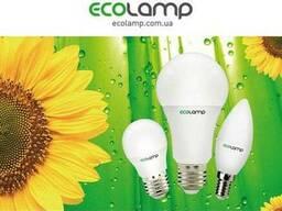 Светодиодные лампы, led лэд лампочки TM Ecolamp
