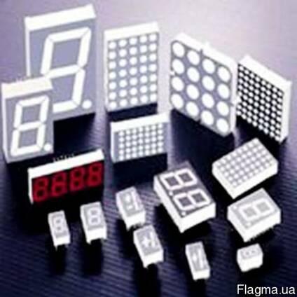 Светодиодные матрицы и семисегментные индикаторы