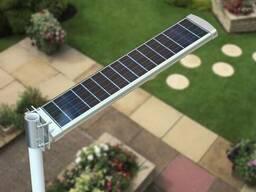 Светодиондные лед светильники 20W на солнечных батареях