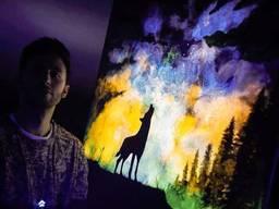 Светящаяся в темноте краска Нокстон для картин 0.5 л