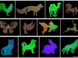 Светящиеся сувениры - фигурки животных, свое производство