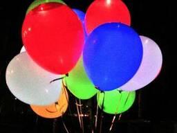 Светяшиеся гелиевые шары