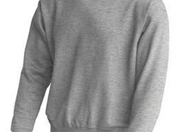Свитер толстовка тёмно серый меланж унисекс JHK SWRA 290