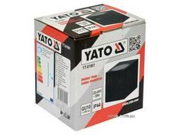 Світильник 1-LED настінний, мережевий YATO, квадратний, 35 Вт, 68 х 81 х 92 мм, цоколь. ..