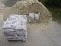 Сыпучие материалы Харьков, щебень, керамзит, песок, цемет