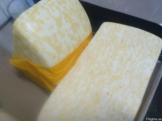 """Сырный продукт """"Мраморный"""", 50% жирность , круг"""