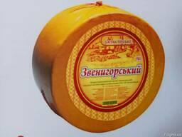 """Сырный продукт """"Звенигородский"""" 50% , круг"""