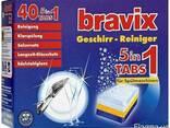Таблетки для посудомоечных машин ОПТОМ Bravix (Бравикс) 40шт - фото 1