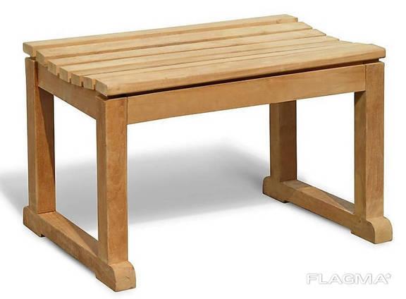 Табуретка 700 х 450 мм от производителя Garden park bench 31