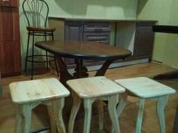 Табуретки, стулья, вешалки напольные изготовим - фото 5