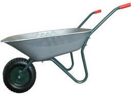 "Тачка садова одноколісна арт. WB6407A, об'єм вода/пісок 65/142л ТМ""Forte"""