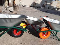 Тачки (строительные), колеса, покрышки, камеры в Донецке.